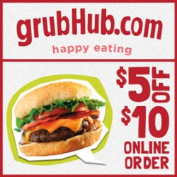 Grubhub coupon codes